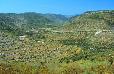 Village de Vissec, Gard,