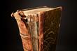 Alte ausgeleiertes Buch