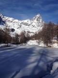 Lago Blu e Cervino