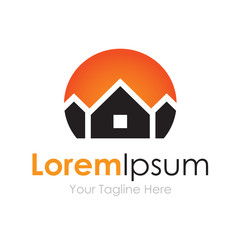 House prime real estate bussiness element icon logo