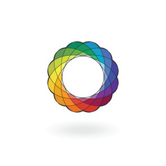 Color wheel Spirograph