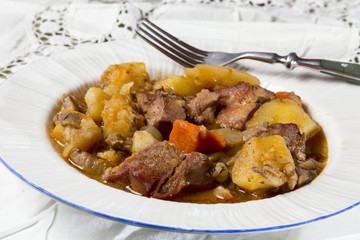 stew with potatoes