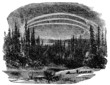 Victorian engraving of an Arctic landscape - 77100923