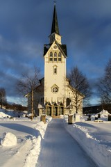 Church in Duved, Sweden