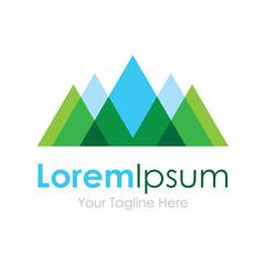 Mountain nature eco landscape view element icon logo business
