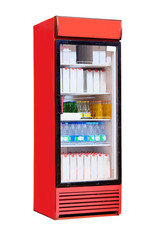 Commercial refrigerator to store drinks