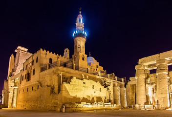 The Mosque of Abu Haggag in Luxor - Egypt