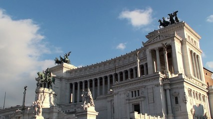 National Monument to Victor Emmanuel II ( Vittoriano ). Rome