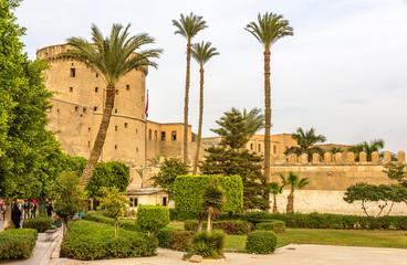 Citadel of Sultan Saladin al-Ayyuby in Cairo - Egypt