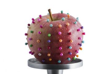 Manzana contaminada
