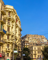 Buildings in the City Center of Cairo - Egypt