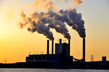 factory, smoke, poisoning, energy, industry, heavy,