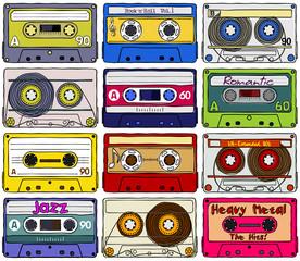 Cassettes. Textures. Part_01