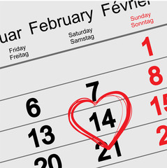 February 14 Valentines Day