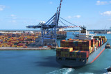 Container Port Ship - 77110926