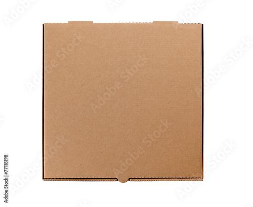 Brown Pizza Box - 77118198