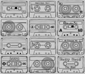 Cassettes. Textures. Part_02