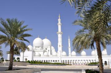 Emirati Arabi Uniti. Abu Dhabi la grande moschea di Sheikh Zayed