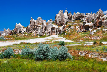 Goreme, Cappadocia in Turkey