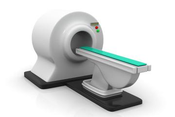 3d render of CT Scanner.