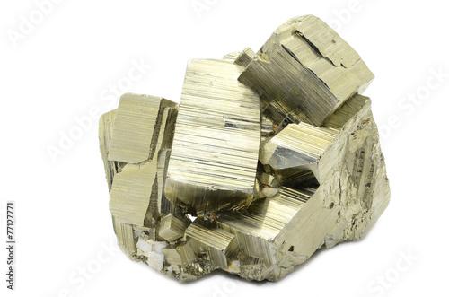 Spoed canvasdoek 2cm dik Edelsteen Pyrite