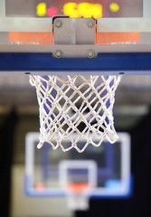 basketball hoop NET and two baskets