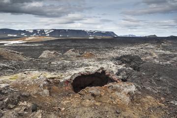 Lava fields