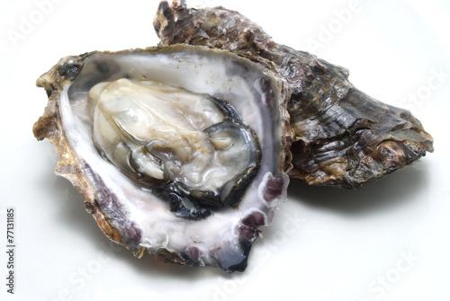 Staande foto Schaaldieren 生牡蠣の剥き身
