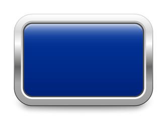 blue metallic button template