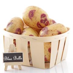 """Panier de pommes de terre """"Blue Belle"""""""