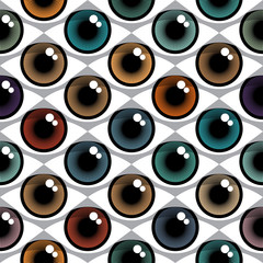 Color Eyes Pattern