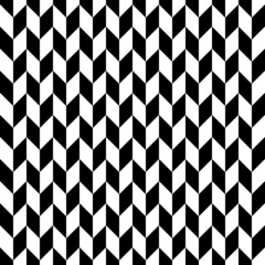 Retro Seamless Pattern Corners Black