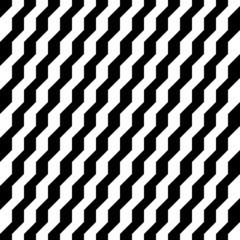 Retro Seamless Pattern Stairs Black