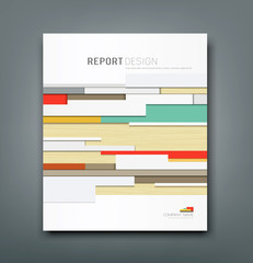 Cover Report wall abstract background design