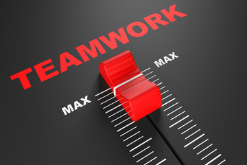Max Teamwork Value Mixer Slider