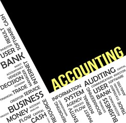 word cloud - accounting