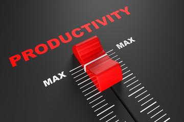 Max Productivity Value Mixer Slider