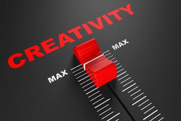 Max Creativity Value Mixer Slider
