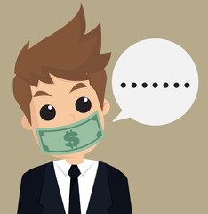 businessman hush money