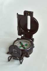 Compass  for a route of travel.