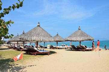 Вьетнам, городской пляж в городе Нячанг