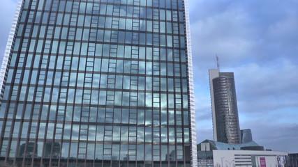 Vilnius. Skyscraper. Timelapse.mov