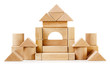 Toy wooden castle - 77138315