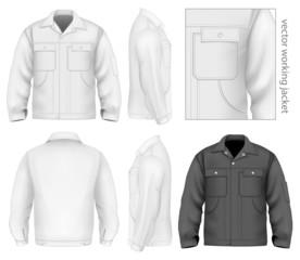 Men work jacket.
