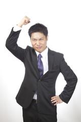 怒り/男性ビジネスマン