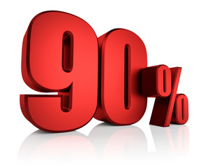 Red 90 Percent