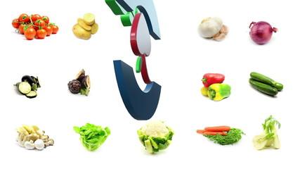 biological food vegetables