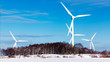 canvas print picture - Wind Energy Plant