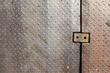 Dirty metal diamond grip pattern