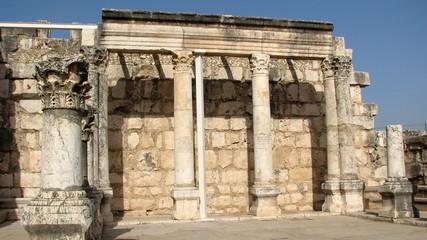 Synagogue of Capernaum, Israel
